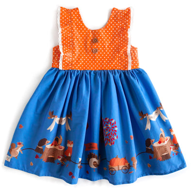 Grateful and Blessed Parade Flutter Dress