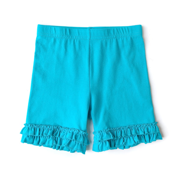 Turquoise Brailey Shorties