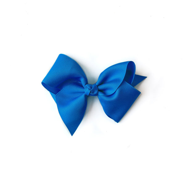 Classic Medium Blue Bow
