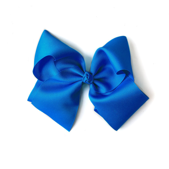Classic Large Blue Bow