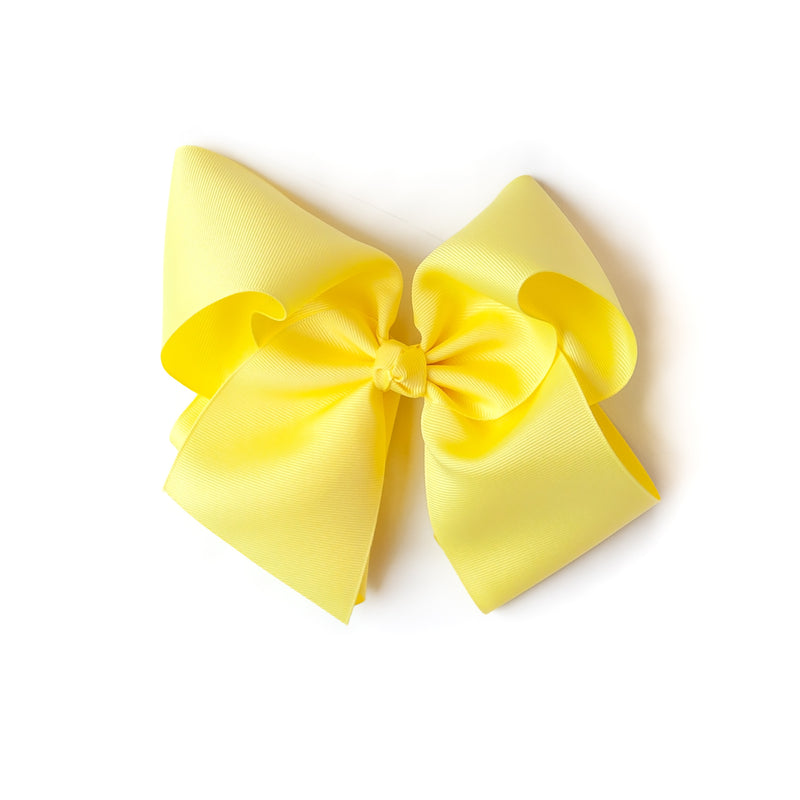 Yellow Large Classic Bow