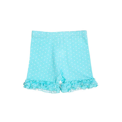 Aqua Brailey Ruffle Knit Shorts