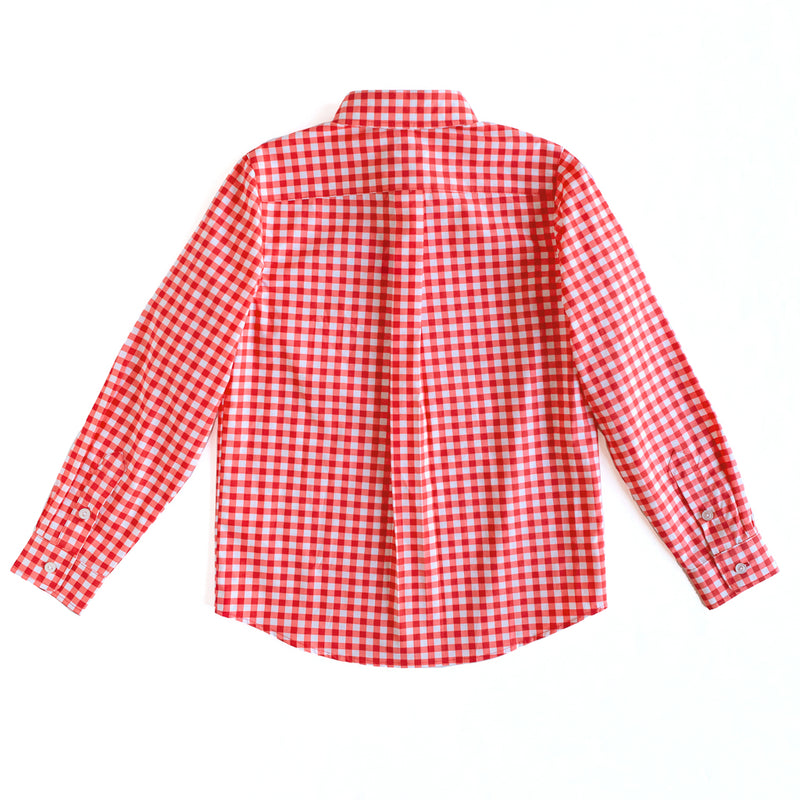 Gingham James Button Down