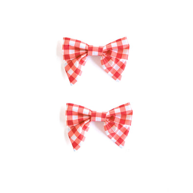 Gingham Mindy Bows