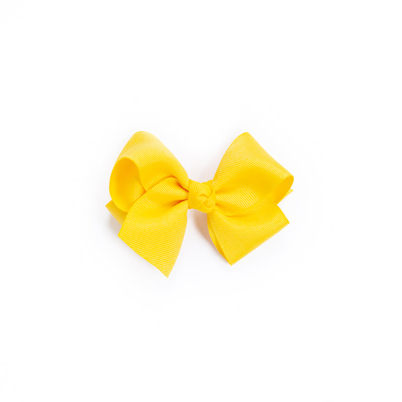 Butterfly Garden Small Yellow Classic Bow