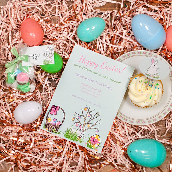 Bunny Trail Party Printable