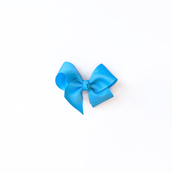 Small Mystic Blue Classic Bow