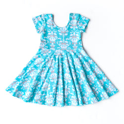 Everyday Twirls Surprise Annie Damask Dress