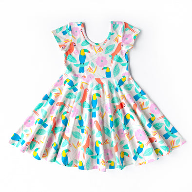 Everyday Twirls Surprise Annie Toucans Dress