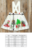 Red Riding Hood Flora Suspender Skirt