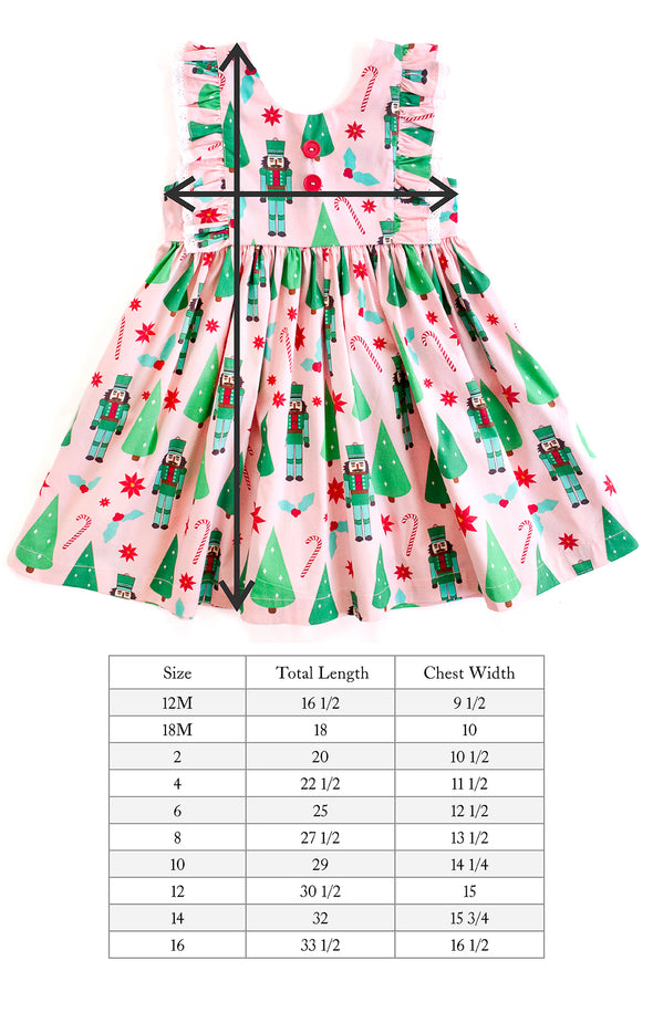 Nutcracker Waltz Woven Dress