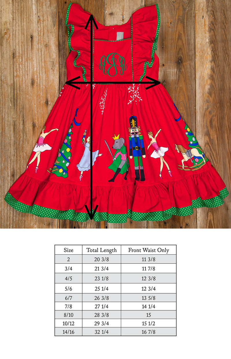 Nutcracker Adalyn Red Dress