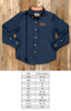 Pumpkin Patch Parade James Denim Long Sleeve Button Down