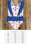 Patriotic Party Starfish Pippa Swim Tank