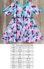 Playground Surprise Hadlee Thumbprint Dress