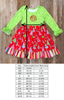 Christmas Tree Rhonda Dress