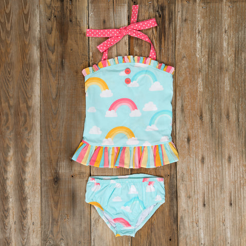 Over the Rainbow Liliana Tankini Set