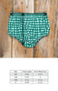 Silent Night Heidi Diaper Green Check Diaper Cover