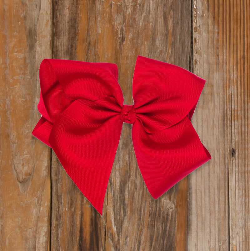 Santa's Workshop Large Red Classic Bow