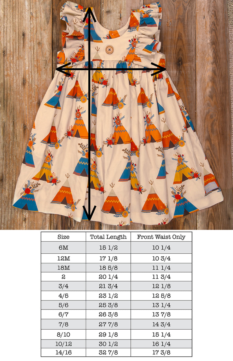 Thanksgiving Day Parade Lacey Teepee Dress