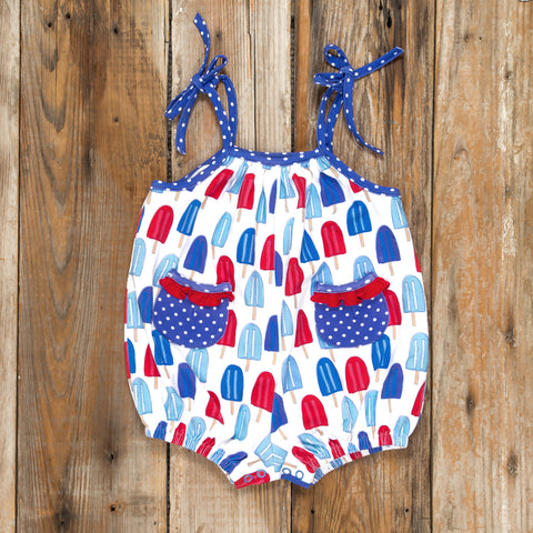 Patriotic Party Popsicles Paige Bubble