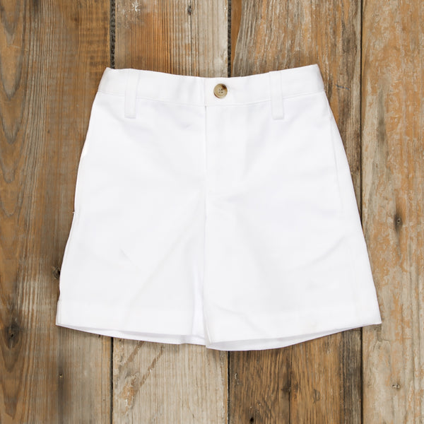 Patriotic Party Flat Front Shorts