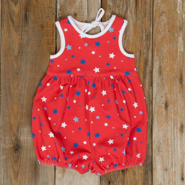 Patriotic Party Red Stars Piper Bubble