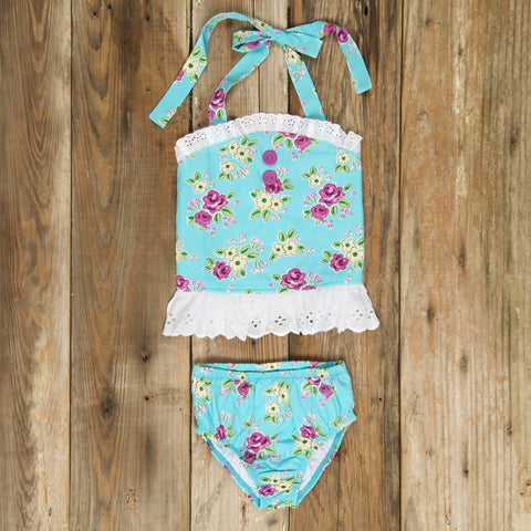 Swim Surprise Floral Liliana Tankini Set
