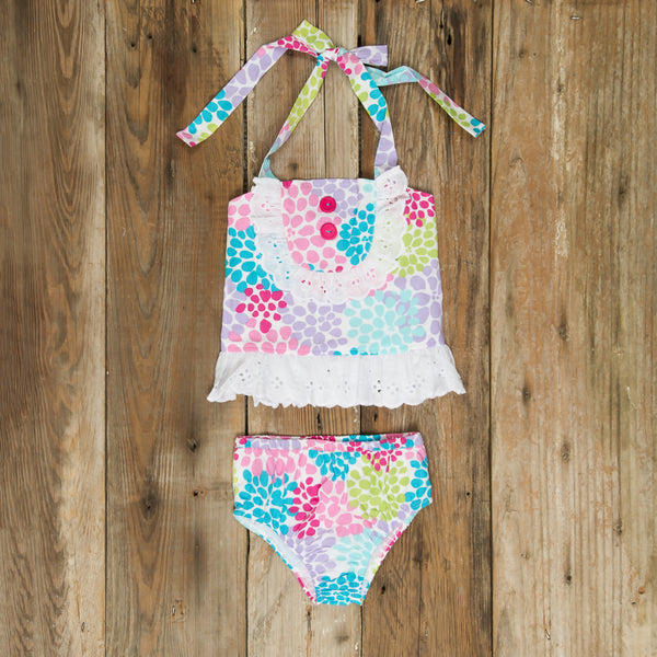 Swim Surprise Flower Burst Liliana Tankini Set