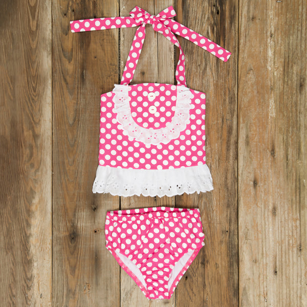 Swim Surprise Polka Dot Liliana Tankini Set