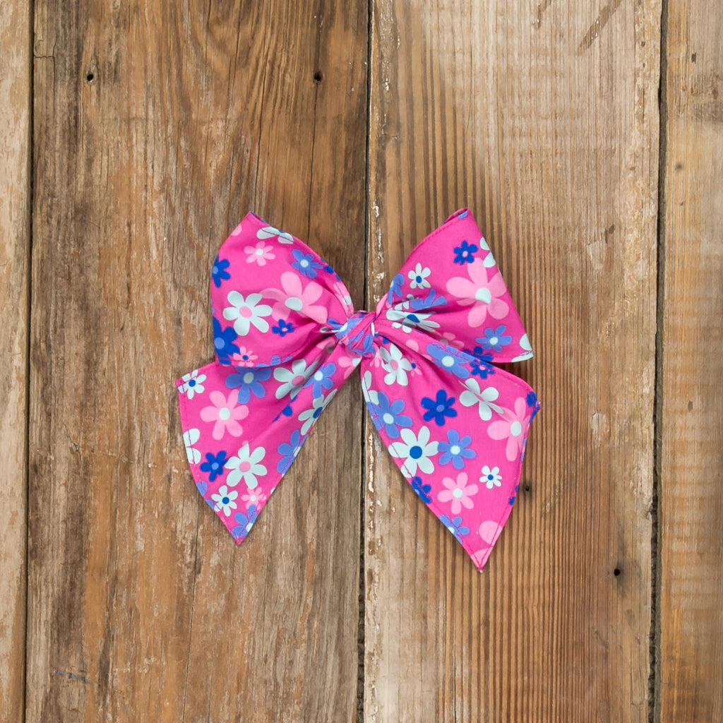 Tea Party Sonni Floral Bow