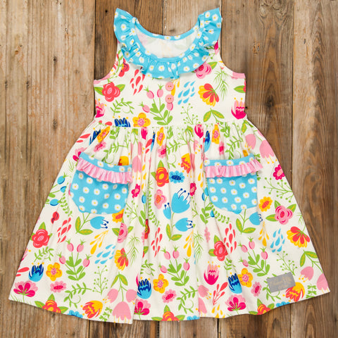 Blossoms and Buttercups Heather Dress