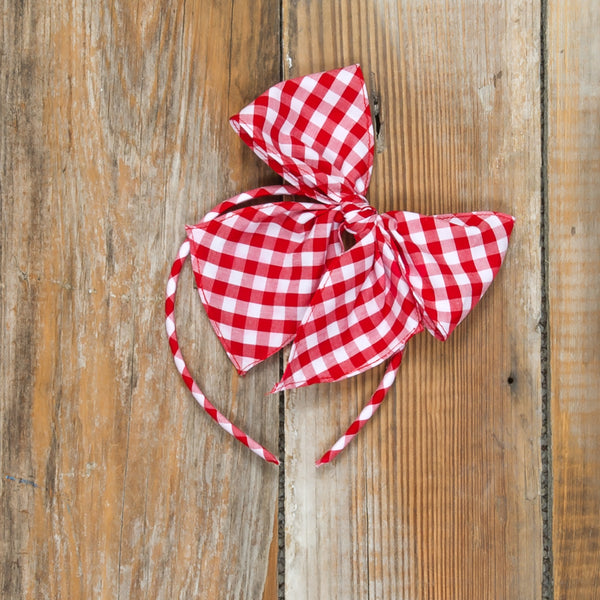 Red Riding Hood Bea Check Headband