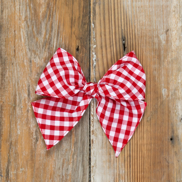 Red Riding Hood Sonni Check Bow