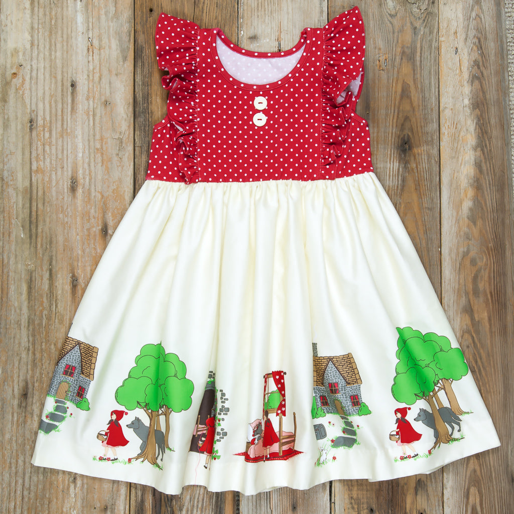 Red Riding Hood Emilia Dress