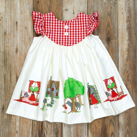 Red Riding Hood Gigi Dress
