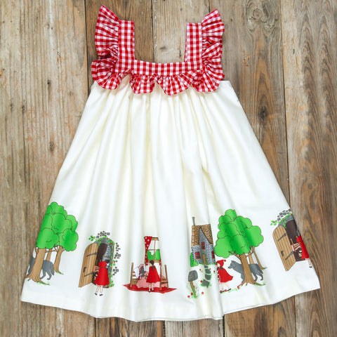 Red Riding Hood Farrah Dress
