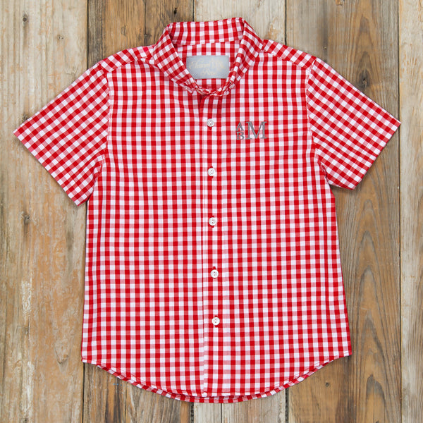 Red Riding Hood James Short Sleeve Shirt