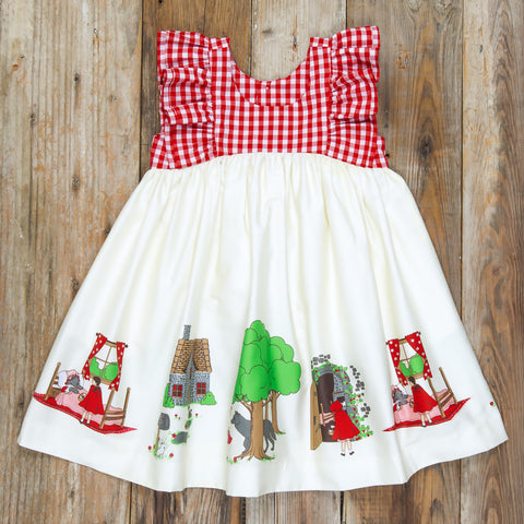 Red Riding Hood Lacey Dress