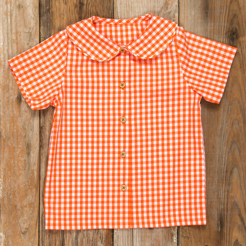 Pumpkin Patch Parade Esther Check Shirt