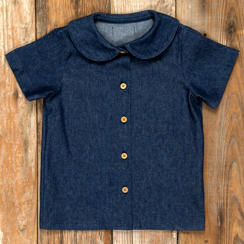 Pumpkin Patch Parade Esther Denim Shirt