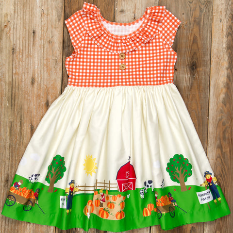 Pumpkin Patch Parade Heather Dress