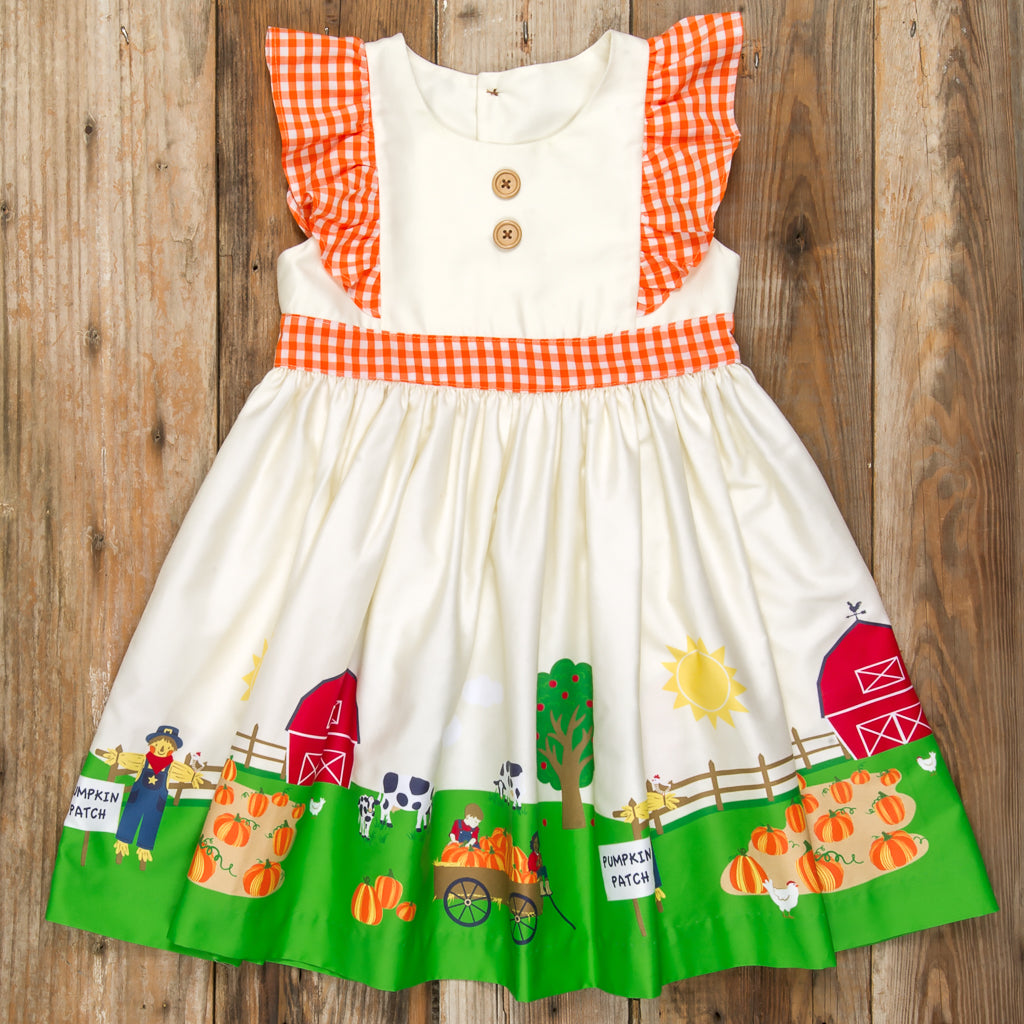 Pumpkin Patch Parade Catalina Dress