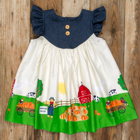 Pumpkin Patch Parade Gigi Dress