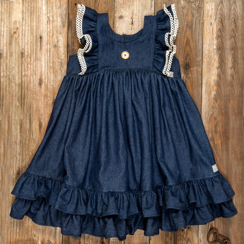 Pumpkin Patch Parade Lacey Dress