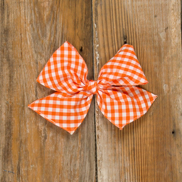 Pumpkin Patch Sonni Check Bow