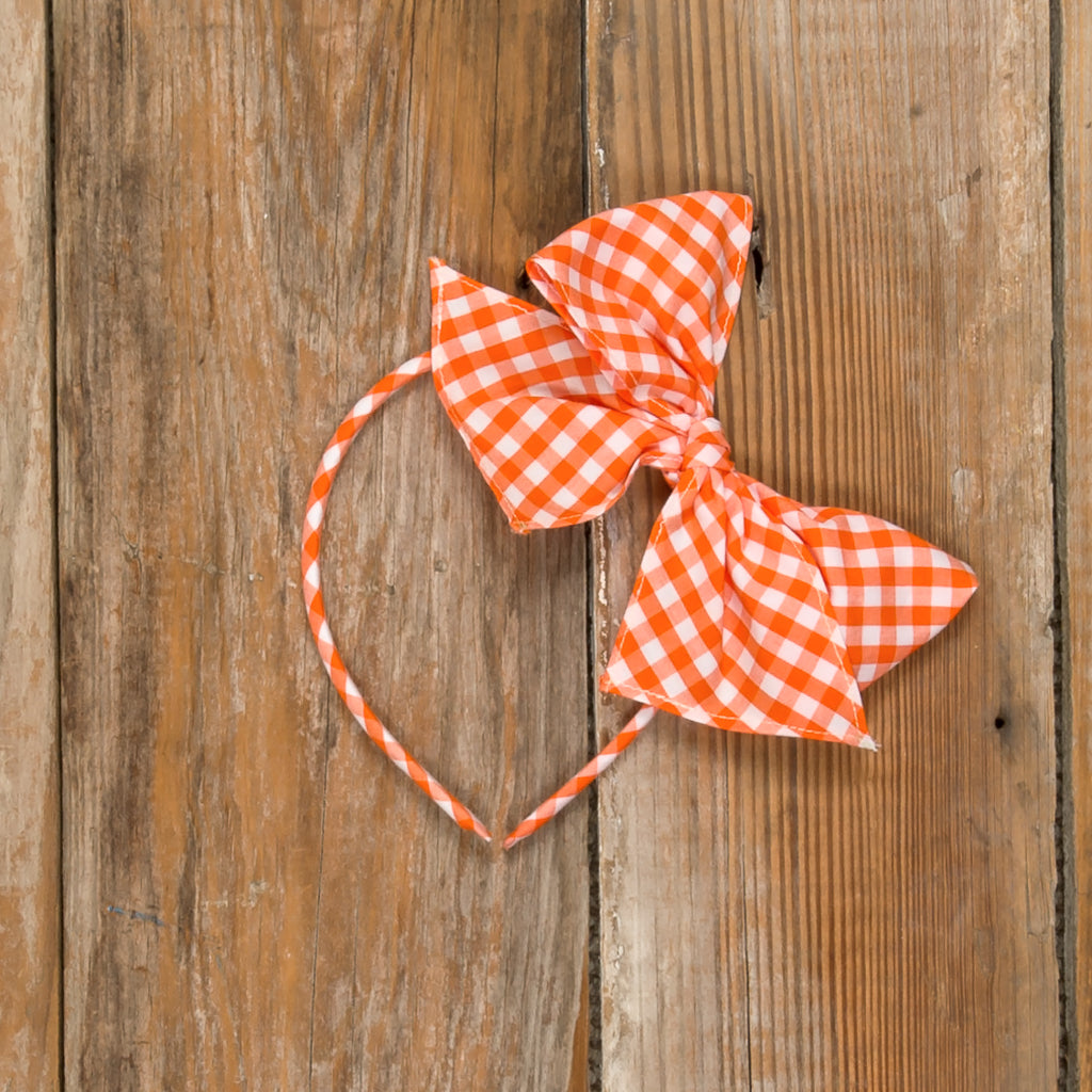 Pumpkin Patch Parade Bea Check Headband