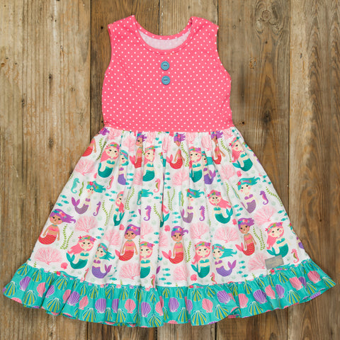 Mermaid Lagoon Rhonda Dress
