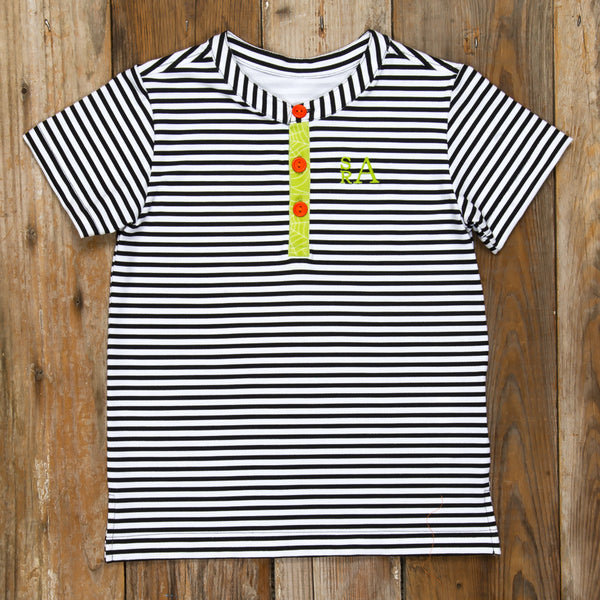 Bewitched Grayson Stripe Tee
