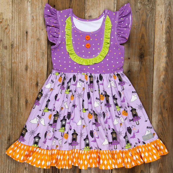 Bewitched Rhonda Bib Dress